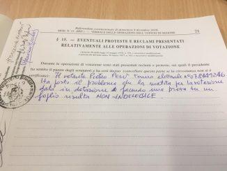 Referendum: Piero Pelù denuncia un'anomalia