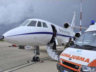 Trapianto urgente per una bambina di 9 anni: la salva un Jet militare