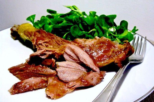 Come cucinare coscia d'anatra confit: ricetta