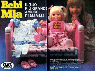 Bambola Bebi Mia: la compagna di molte bambine