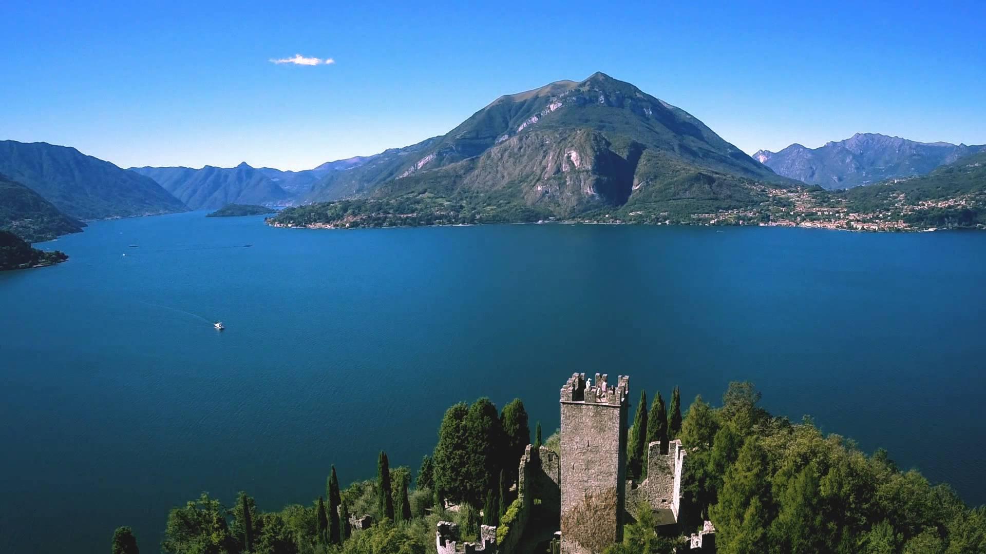 Il Castello di Vezio sul Lago di Como