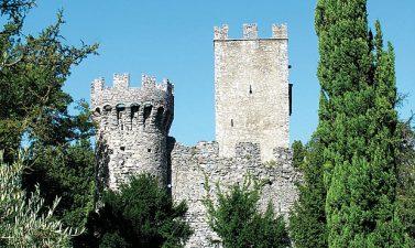 Altra veduta del Castello di Vezio