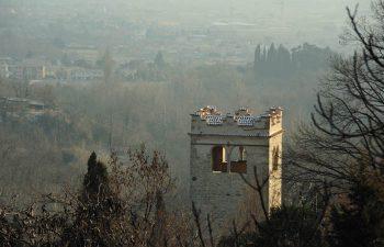 Castello, colli e parco degli Ezzelini a Romano