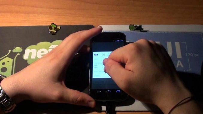 Ruotare video su Android