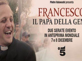 """Debutta su Canale 5 la miniserie su Papa Francesco, una specie di approfondimento del lungometraggio """"Chiamatemi Francesco""""."""