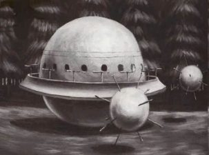 L'UFO che Robert Taylor avrebbe visto