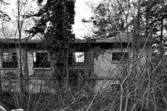 Vecchia foto di Villa Carenzi (fraz. Piancasale)