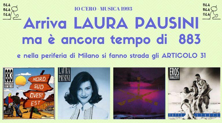 Articolo 31 e Laura Pausini: ecco come nel 1993 è cambiata la musica italiana