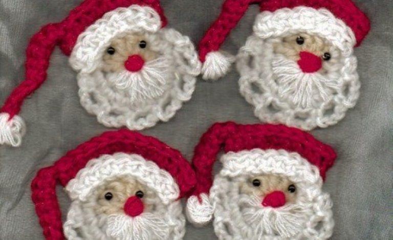 Lavoretti di natale con pasta sughero uncinetto for Lavori natalizi uncinetto