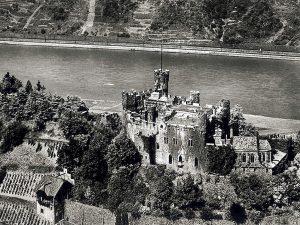 Vecchia foto del castello