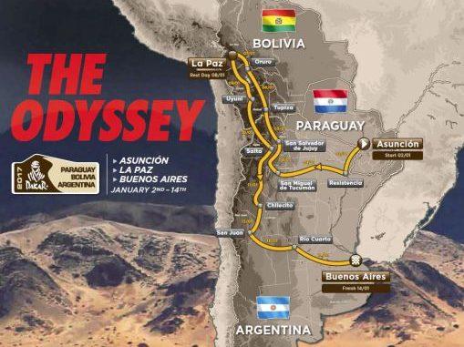 Motociclismo: Dakar 2017, il percorso più difficile di sempre