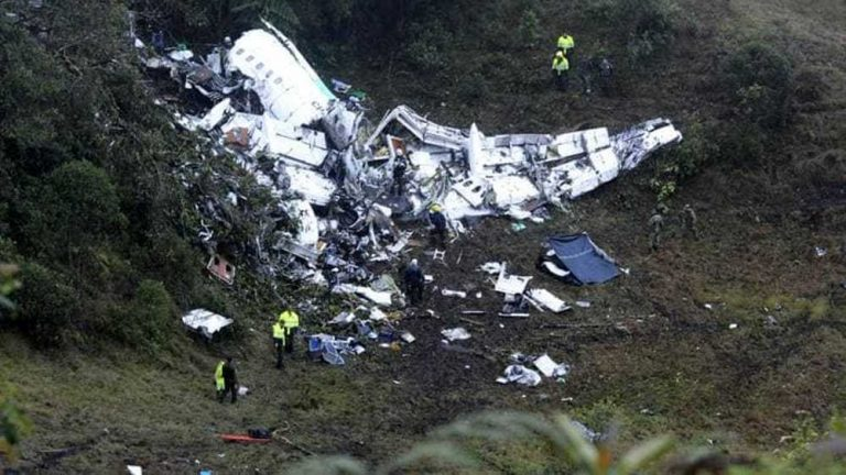 Disastro aereo in Colombia
