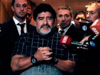 Chapecoense: il cordoglio di Maradona e dei tifosi
