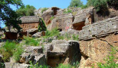 Necropoli etrusca di Norchia