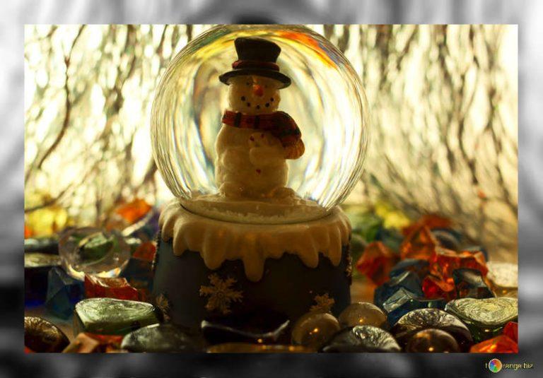sfere di neve