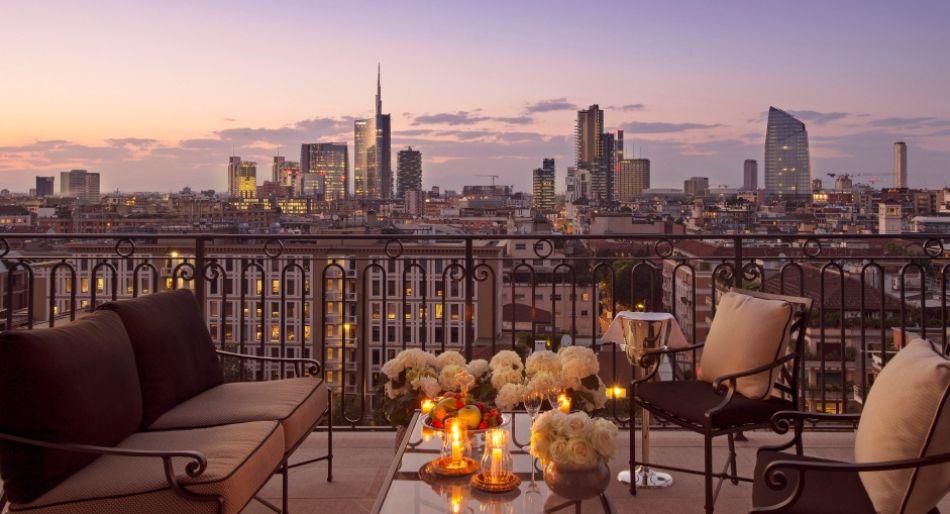 Awesome Terrazza Dsquared Milano Contemporary - Idee per la casa ...