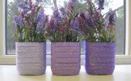 Vasi per piante con bottiglie di plastica