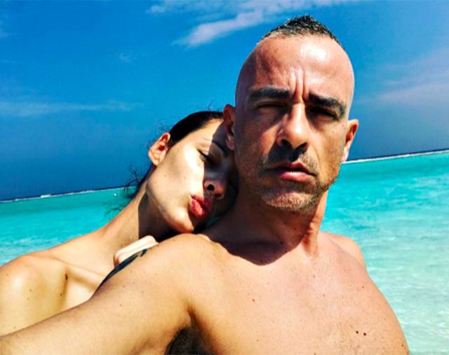 Aurora Ramazzotti in vacanza alle Maldive con suo padre Eros