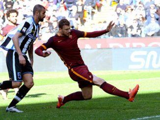 Dzeko Udinese - Roma