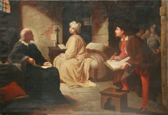 Celebre ritratto di Beatrice Cenci in prigione