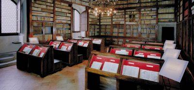 Biblioteca Rilliana nel castello