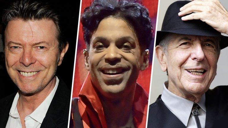 Brit Awards, Bowie e Cohen sono tra i candidati