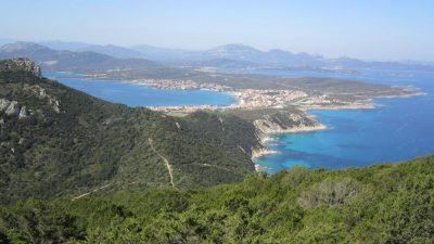 Vista da Capo Figari