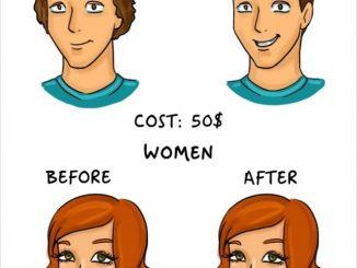 Differenze uomini e donne nella vita di tutti i giorni Eccole le vignette