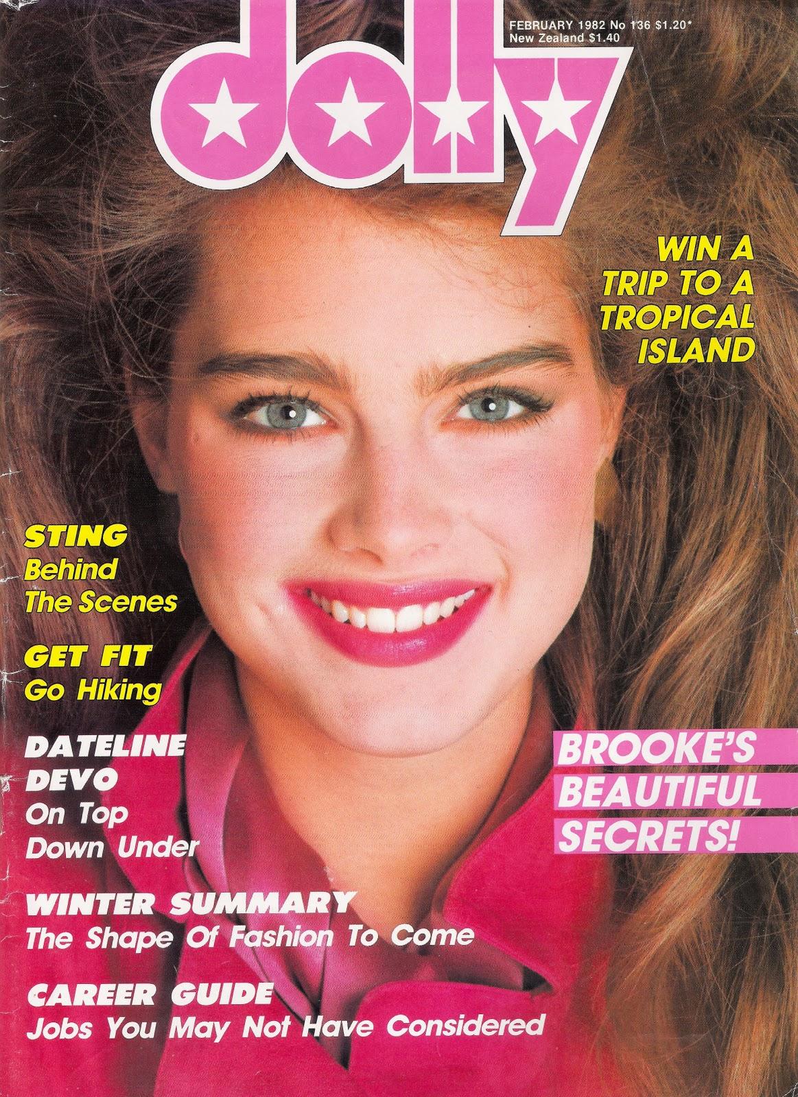 NFL Dolly magazine fashion articles