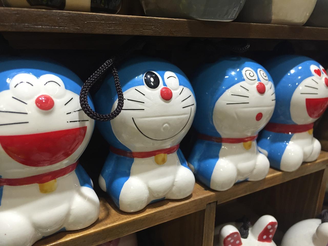 Doraemon episodi e scena finale del cartone animato