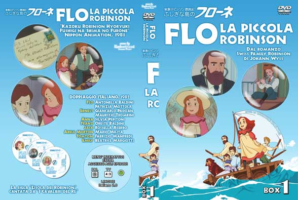 Flo, la piccola Robinson: la storia di una naufraga in un cartone ...