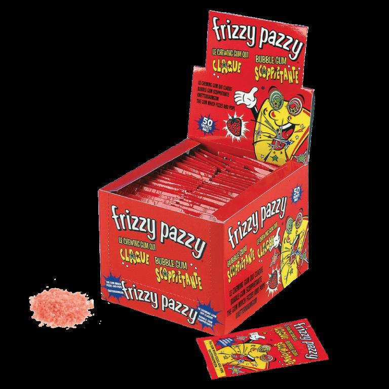 Frizzy Pazzy, il gusto frizzante delle caramelle anni 80