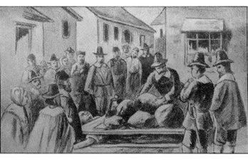 Giles Corey torturato a morte