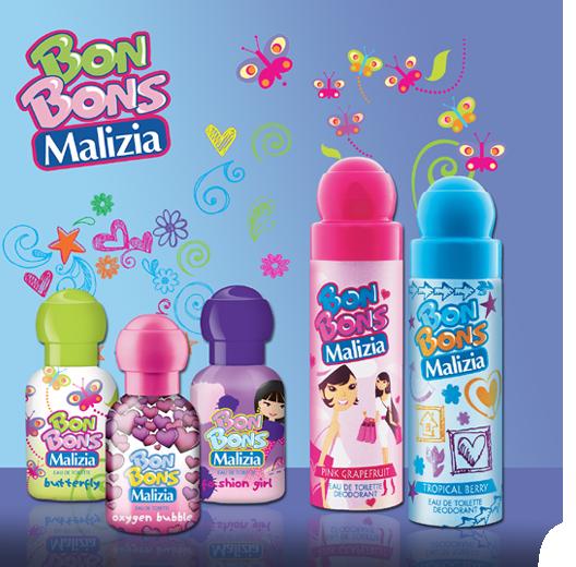 I Bon Bon Malizia, i profumi al gusto di frutta degli anni 90