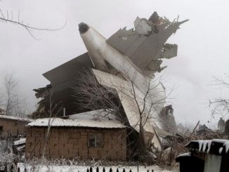 Kirghizstan: aereo precipita su abitazioni, almeno 36 vittime