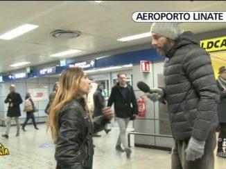 Linate: pizzo per dormire in aeroporto. La denuncia di Striscia