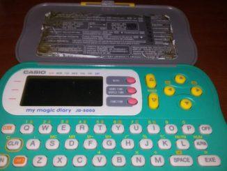 My magic Diary, l'agenda degli anni 90 digitale