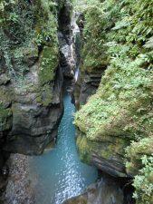 Il fiume sotto l'Orrido