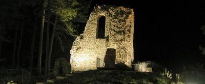 Ruderi di Rocca Cenci a Petrella Salto