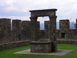 Il pozzo del Castello di Poppi