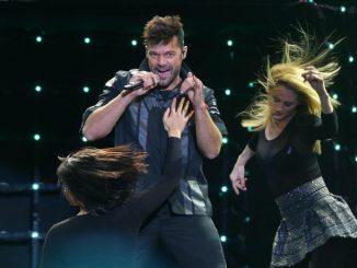 Ricky Martin concert in Bolivia