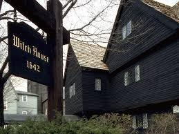"""La""""Casa della Strega"""", attrazione turistica a Salem"""
