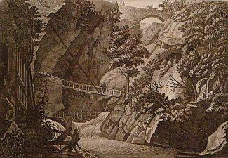 Antica Stampa dell'Orrido
