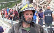 Teramo: I vigili del fuoco salvano mamma con bimbo sotto le macerie