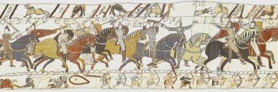 Arazzo con Oddone di Bayeux in battaglia