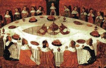 Re Artù e i Cavalieri della Tavola Rotonda