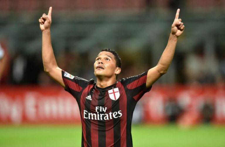 Milan calciomercato: Bacca alla Cina? Il colombiano dice no