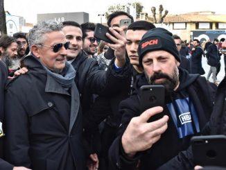 Roberto Baggio a Pitti Uomo