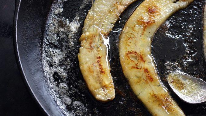 banana fritta caramellata