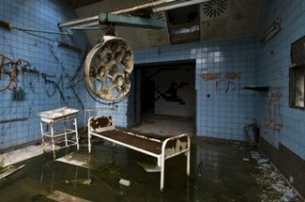 Camera dell'ospedale